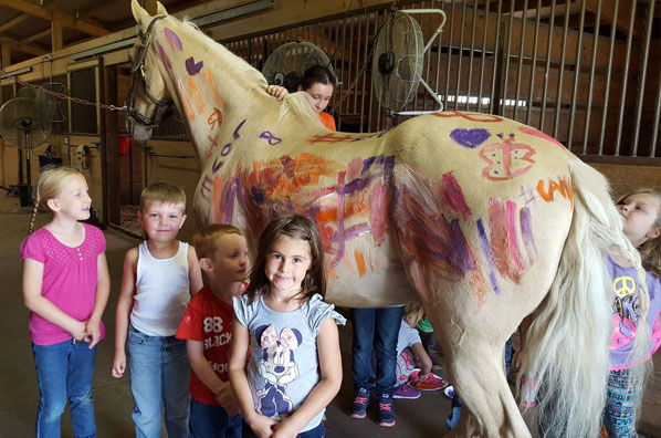summer camp at Krussell Stables